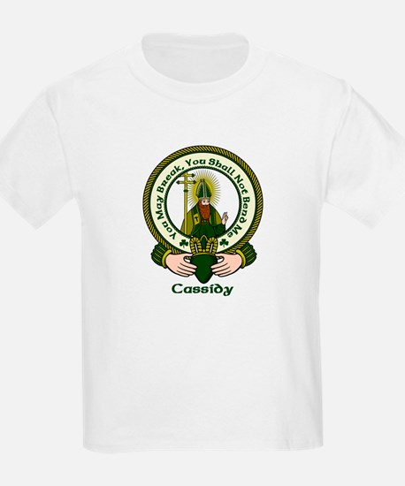 Cassidy Clan Motto T-Shirt