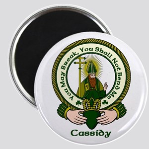 """Cassidy Clan Motto 2.25"""" Magnet (10 pack)"""