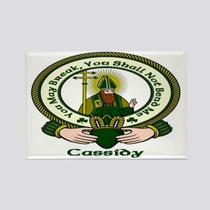 Cassidy Clan Motto Rectangle Magnet (10 pack)