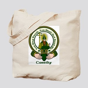 Cassidy Clan Motto Tote Bag