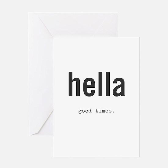 Cool Rad Greeting Card
