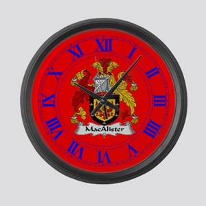 Clan MacAlister Large Wall Clock