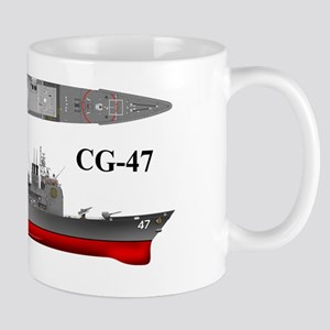 USS Ticonderoga CG-47 wrapped Mug