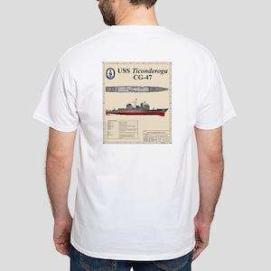 USS Ticonderoga CG-47 T-Shirt