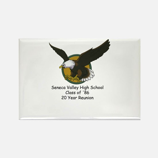 SVHS 20th Rectangle Magnet (10 pack)