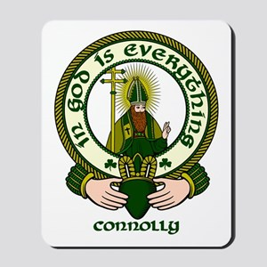 Connolly Clan Motto Mousepad