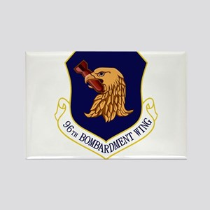 96th Bomb Wing Rectangle Magnet