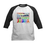 Ribbons For a Cause Kids Baseball Jersey