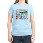 Ribbons For a Cause Women's Light T-Shirt
