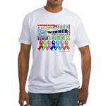 Ribbons For a Cause Fitted T-Shirt