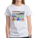 Ribbons For a Cause Women's T-Shirt