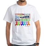 Ribbons For a Cause White T-Shirt