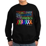 Ribbons For a Cause Sweatshirt (dark)