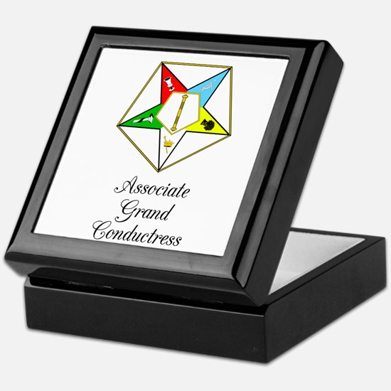 Associate Grand Conductress Keepsake Box