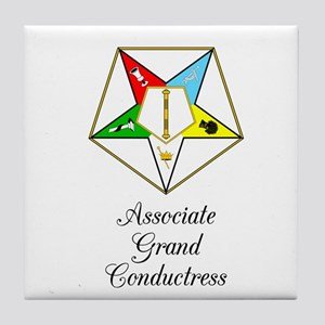 Associate Grand Conductress Tile Coaster
