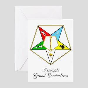 Associate Grand Conductress Greeting Card