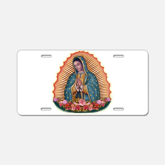 Lady of Guadalupe T2 Aluminum License Plate