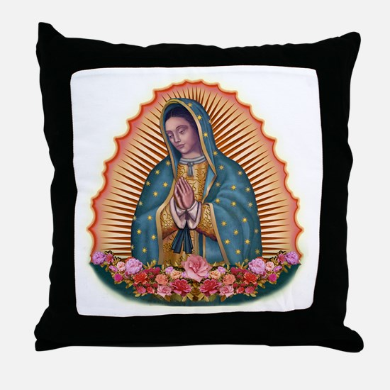 Lady of Guadalupe T2 Throw Pillow