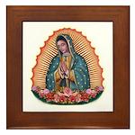 Lady of Guadalupe T2 Framed Tile