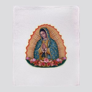 Lady of Guadalupe T2 Throw Blanket
