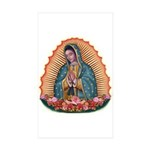 Lady of Guadalupe T2 Sticker (Rectangle 10 pk)