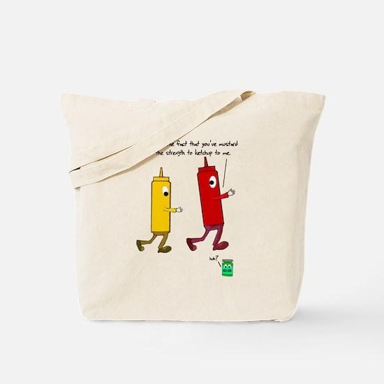 Ketchup Mustard Relish Race S Tote Bag