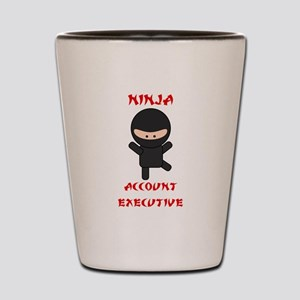 Ninja Account Executive Shot Glass