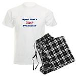 April Fool's Prankster Men's Light Pajamas