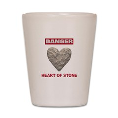 Heart of Stone Shot Glass