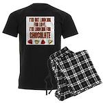 Looking for Chocolate Men's Dark Pajamas