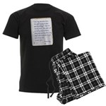 Toy Company Men's Dark Pajamas