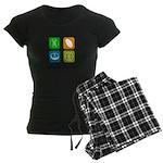 Four Seasons Women's Dark Pajamas