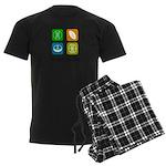 Four Seasons Men's Dark Pajamas