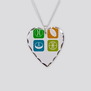 Four Seasons Necklace Heart Charm