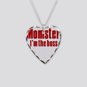 Momster Necklace Heart Charm