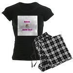 Human Alarm Clock Women's Dark Pajamas