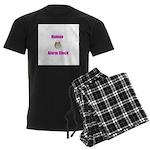 Human Alarm Clock Men's Dark Pajamas