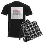 DANGER: Why? Men's Dark Pajamas