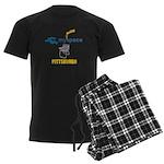 myspace Men's Dark Pajamas