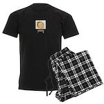 peachy Men's Dark Pajamas