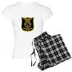 Porchville Police Women's Light Pajamas