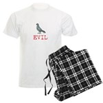 Evil Pigeon Men's Light Pajamas