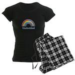 Undecided Rainbow Women's Dark Pajamas