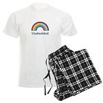 Undecided Rainbow Men's Light Pajamas