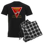 Randy Raccoon Men's Dark Pajamas