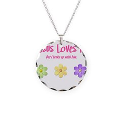 Jesus Loves Me Necklace