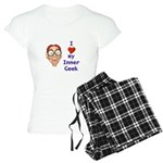 Boy Inner Geek Women's Light Pajamas