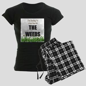 The Weeds Women's Dark Pajamas