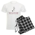 Time to Lean Men's Light Pajamas