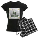 Future Big Tipper Women's Dark Pajamas